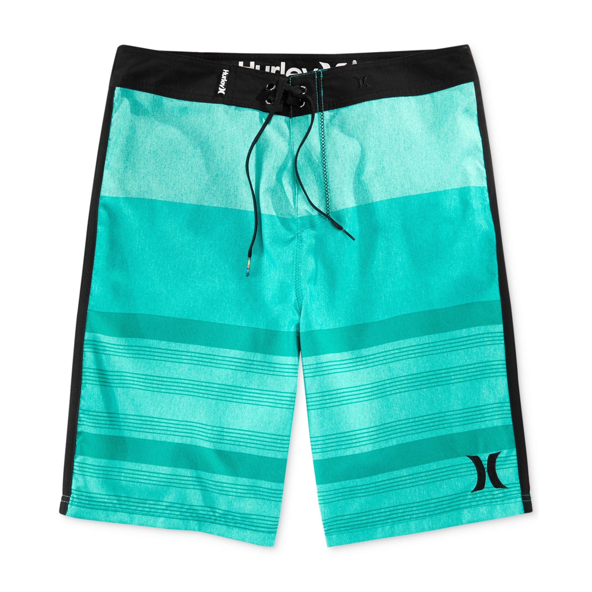 lyst hurley level boardshorts in green for men