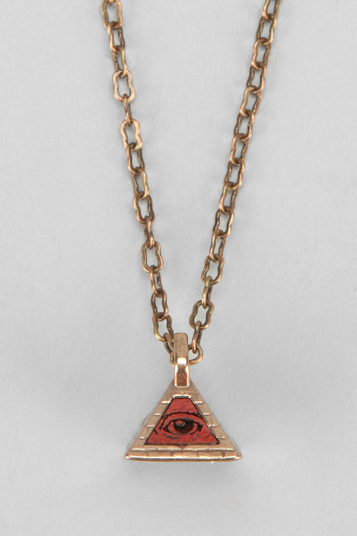 urban outfitters omerica organic all seeing eye necklace
