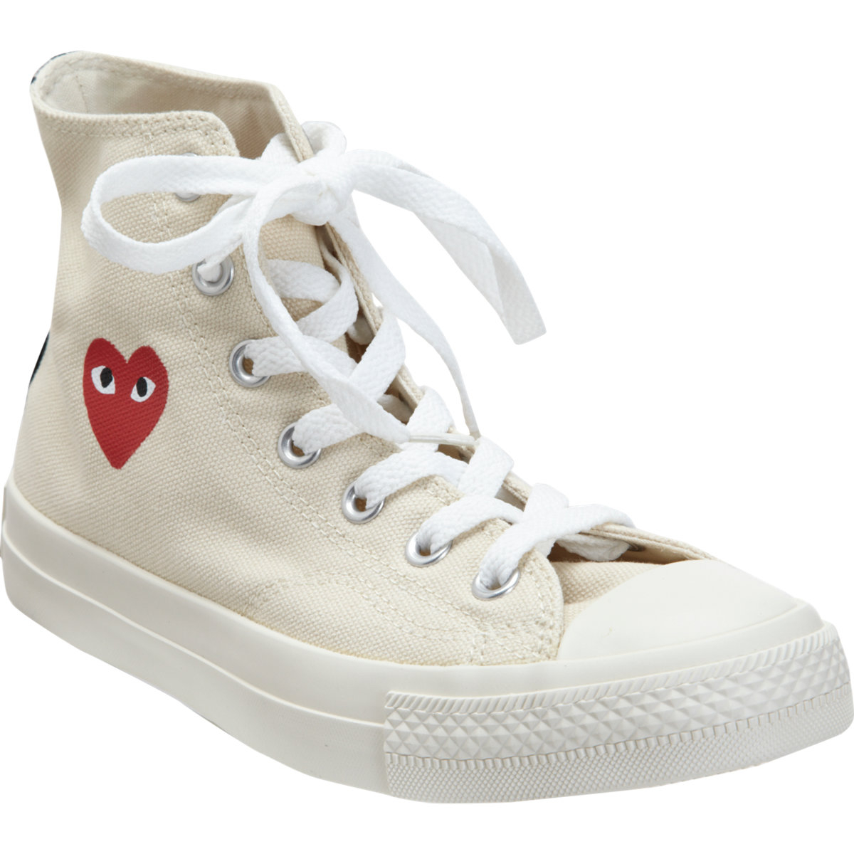 2e7afb2e64e Lyst - Play Comme des Garçons Play Chuck Taylor All Star Canvas High ...