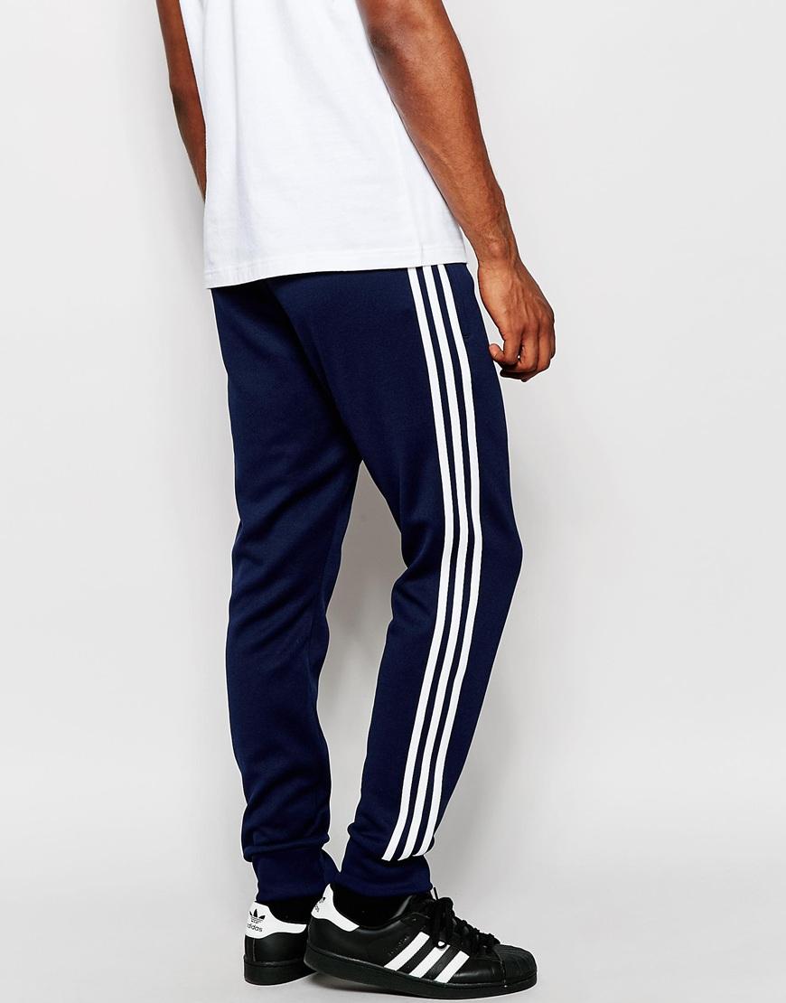 adidas superstar cuffed sweatpants