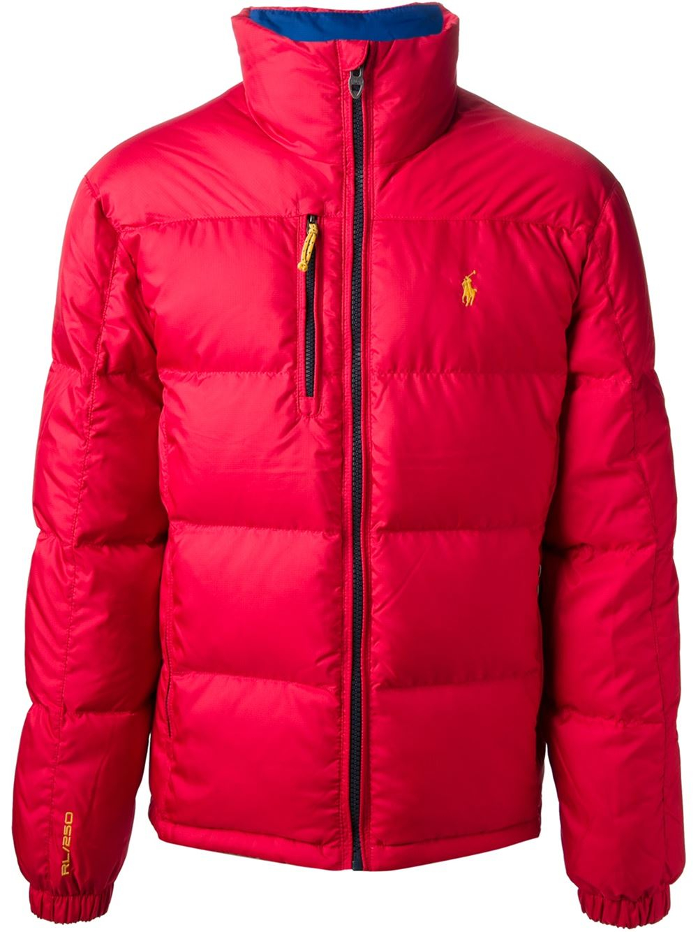 polo ralph lauren classic padded jacket in red for men lyst. Black Bedroom Furniture Sets. Home Design Ideas