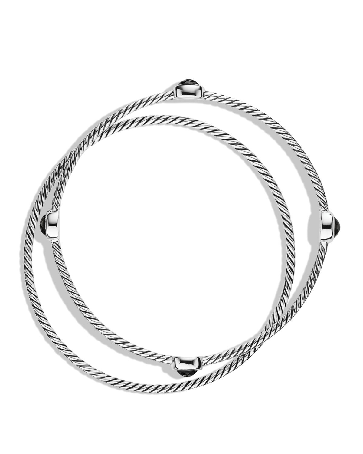David yurman Color Classics Bangles With Black Onyx in ...