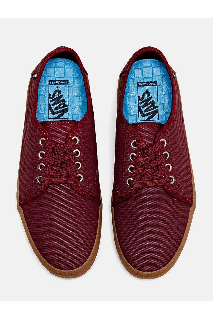 cea8d113db2 Lyst - Vans Costa Mesa Waxed Canvas Men S Shoe in Purple for Men