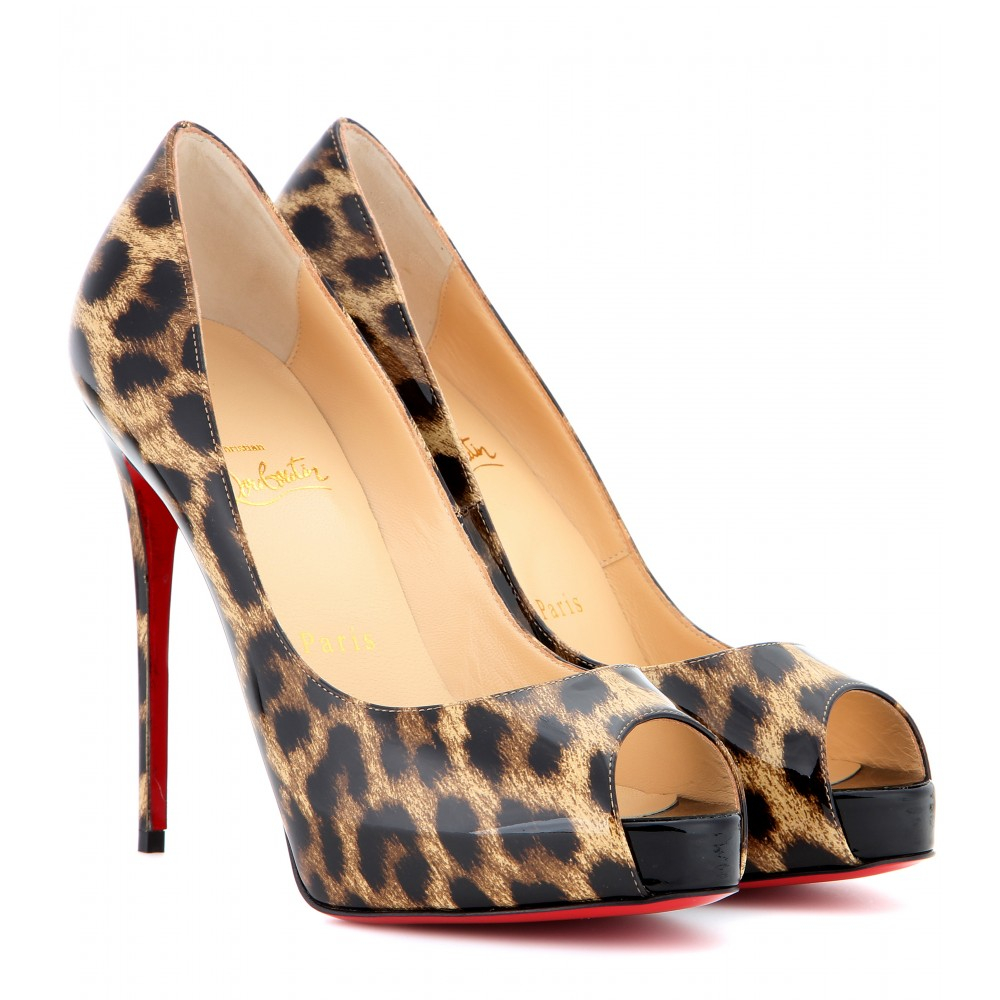Christian Louboutin Leather Prive Pumps Lou Boutin Shoes