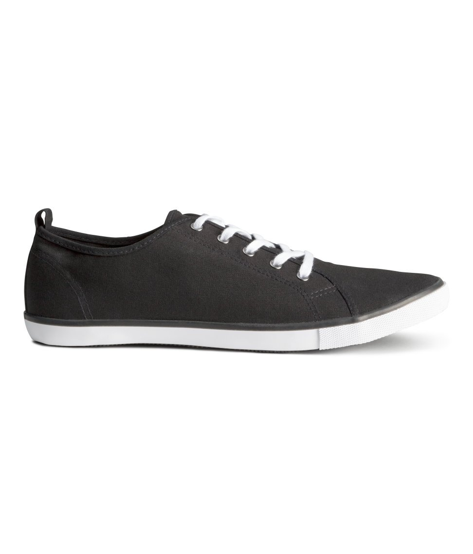 h m sneakers in black for lyst