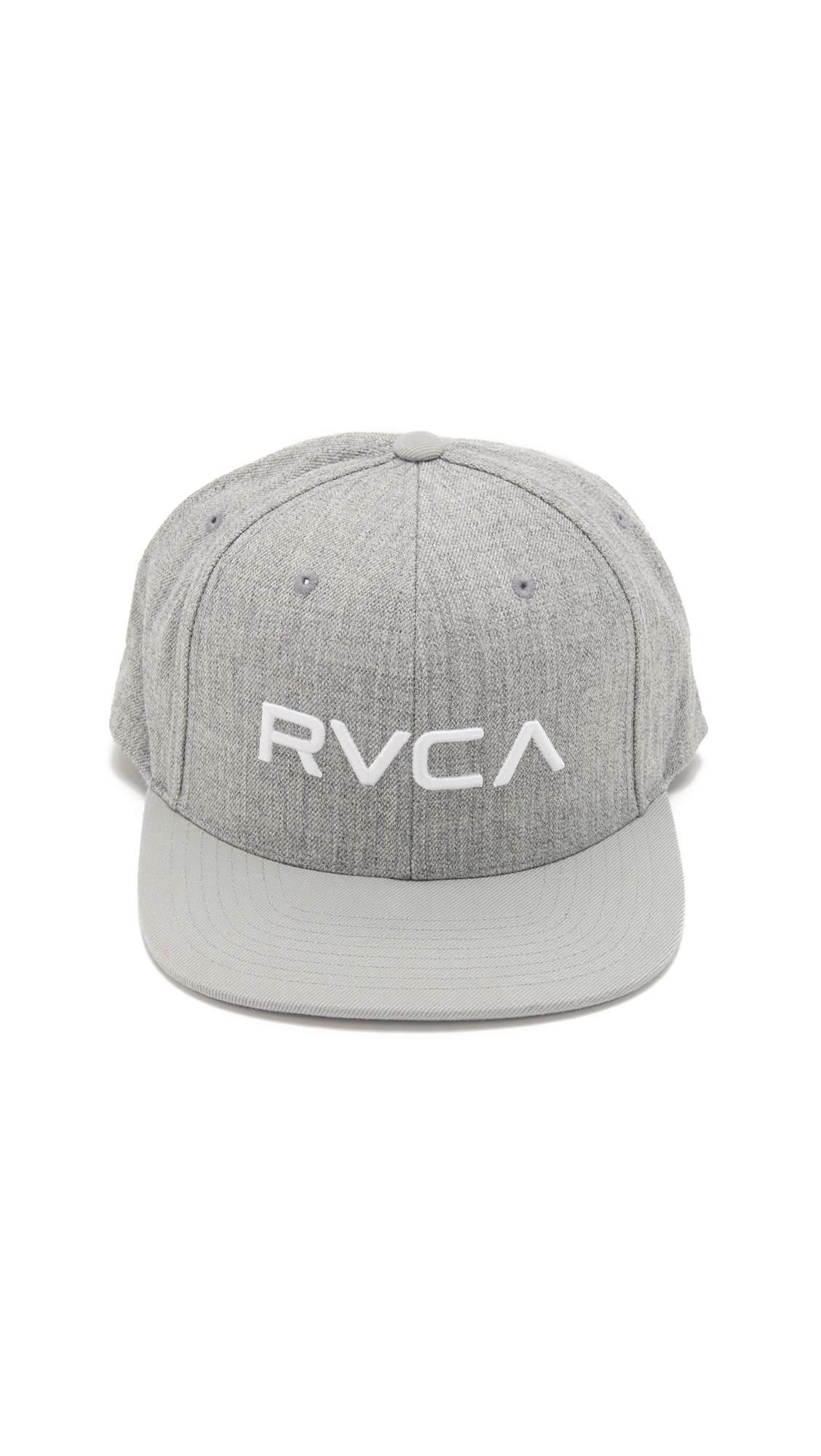 finest selection 8925d bfaf9 Lyst - RVCA Twill Snapback Iii in Gray for Men