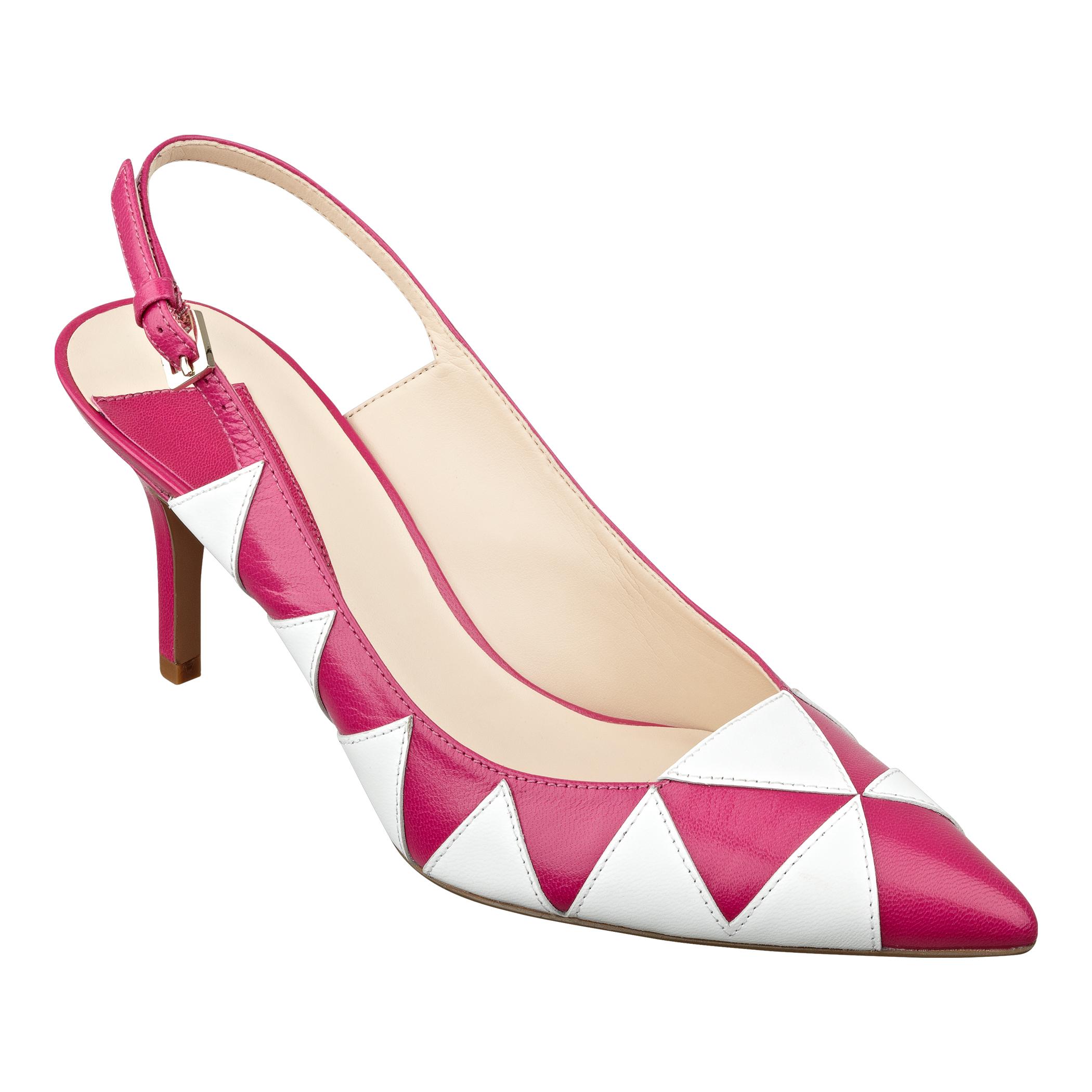 Pink Mid Heel Pumps