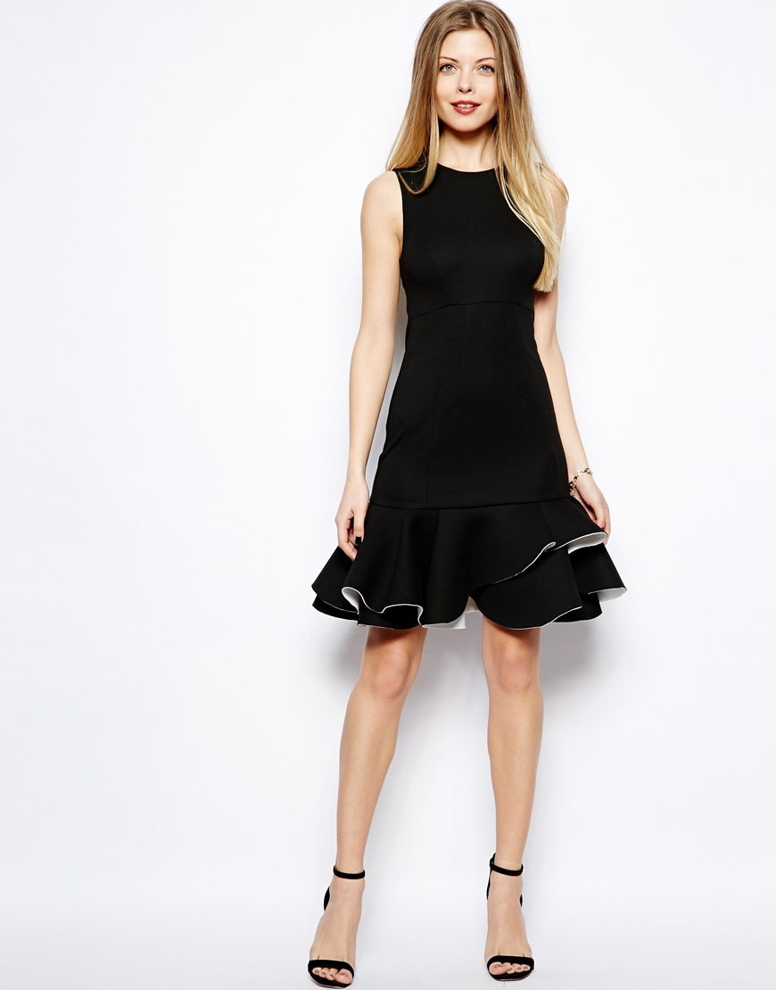 Shop for black dress ruffle online at Target. Free shipping on purchases over $35 and save 5% every day with your Target REDcard.