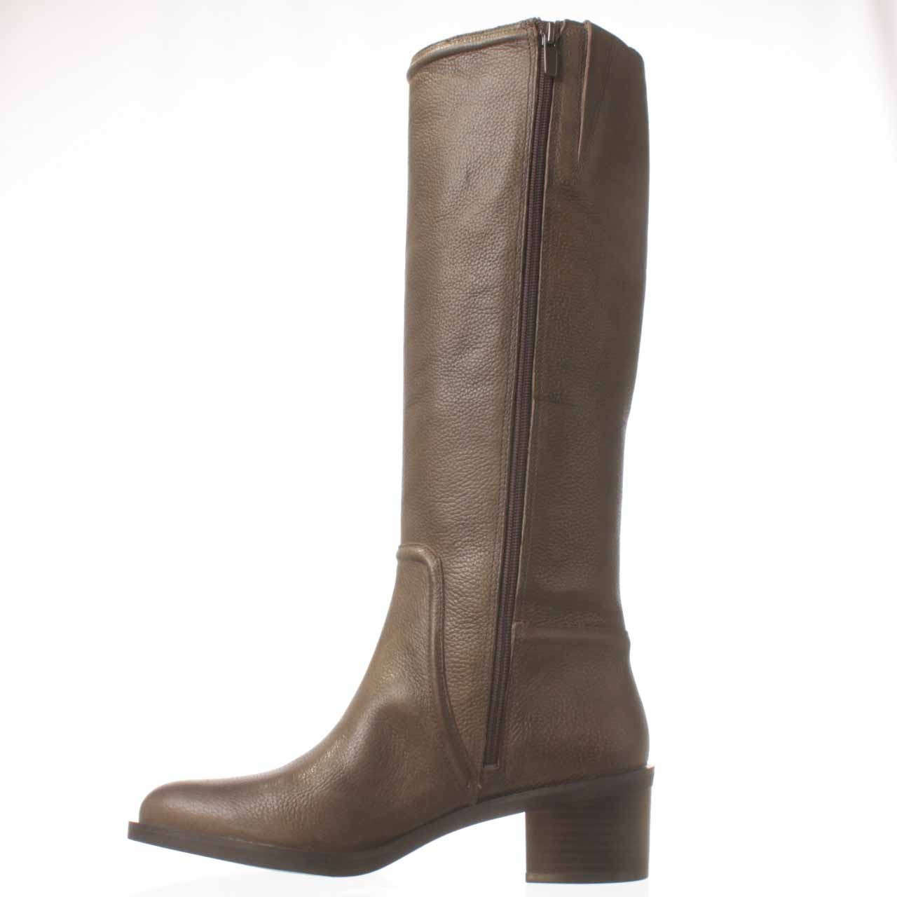 Lyst Enzo Angiolini Gregie Riding Boot In Gray
