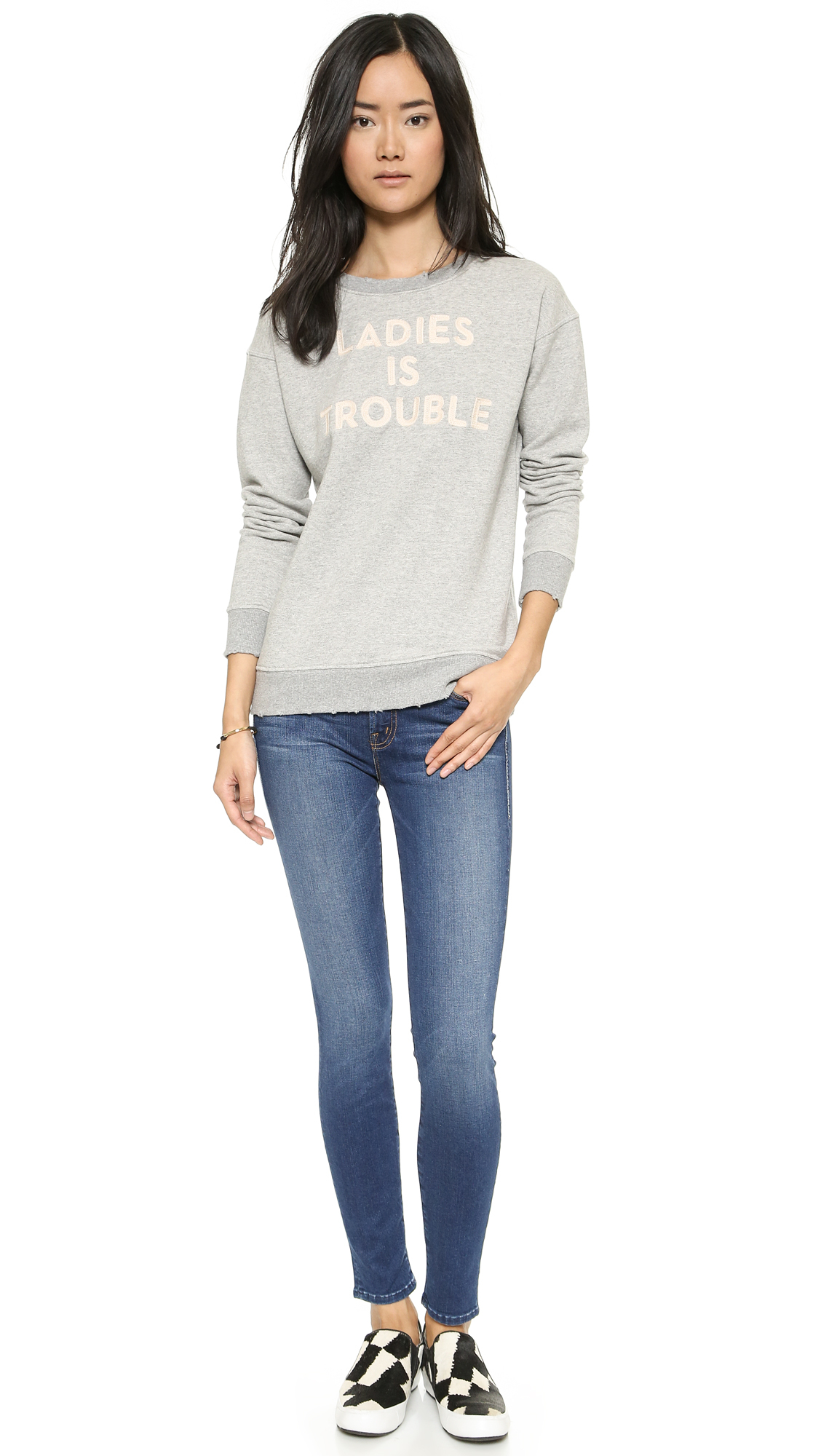 The Charmer Pages Lisa Kudrow For More: Mother The Charmer Skinny Jeans
