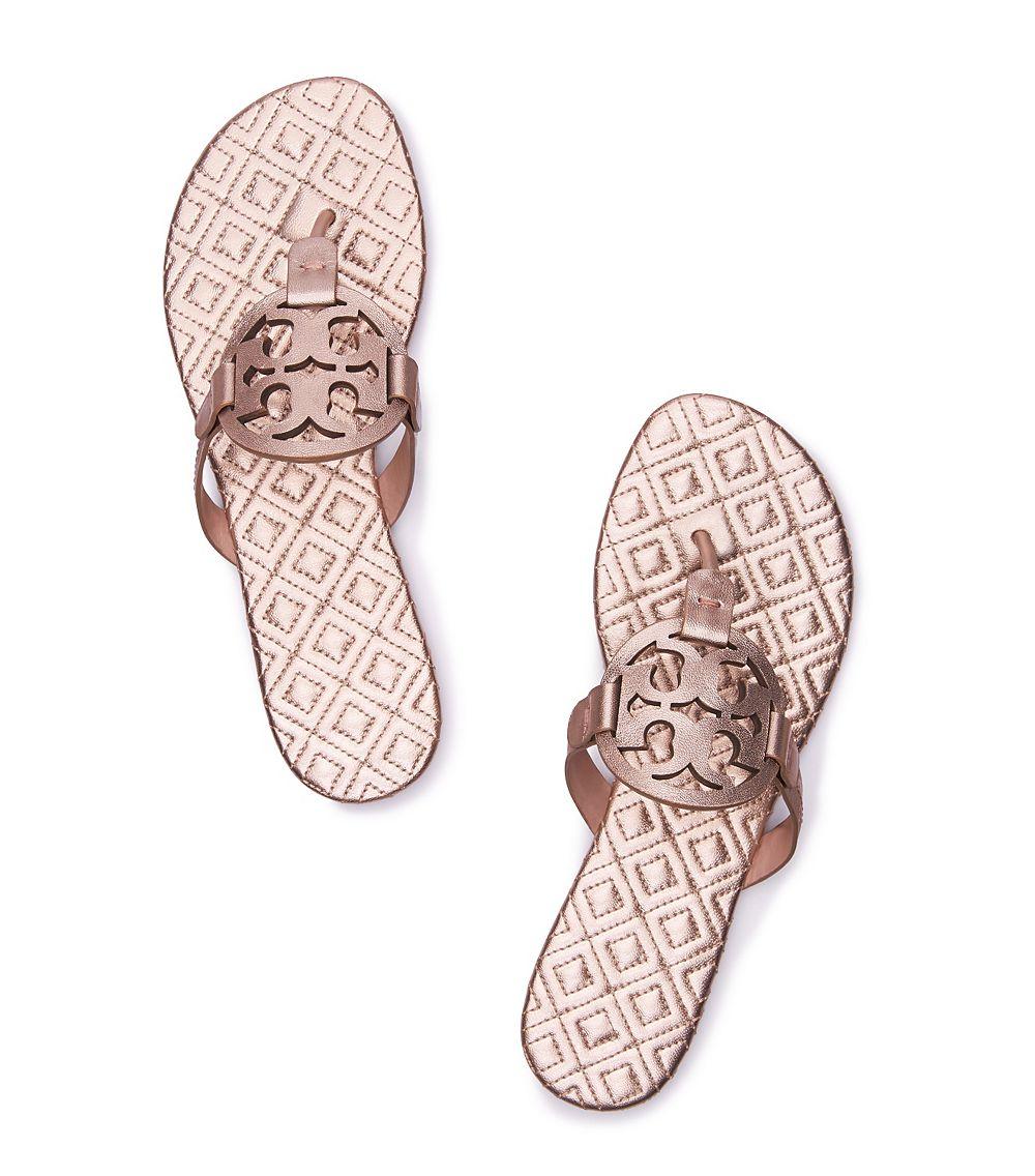 07ea09d634c7f4 Lyst - Tory Burch Miller Sandal
