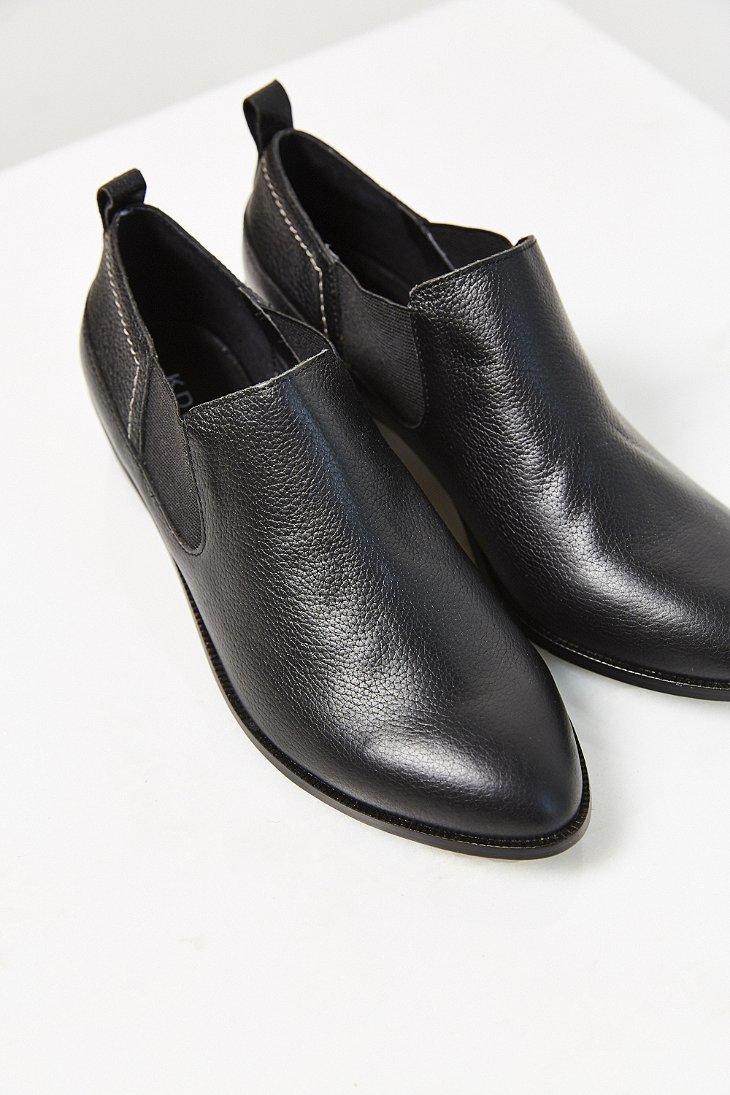 Kelsi dagger brooklyn Veronika Western Shoe in Black | Lyst