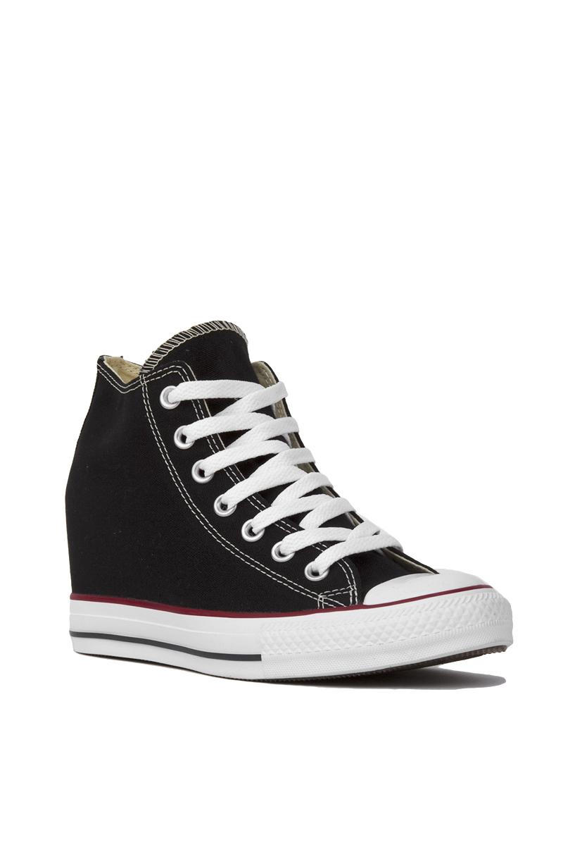 Lyst - Converse Women s Chuck Taylor All Star Lux Mid Top Sneaker ... 8d647ed1b