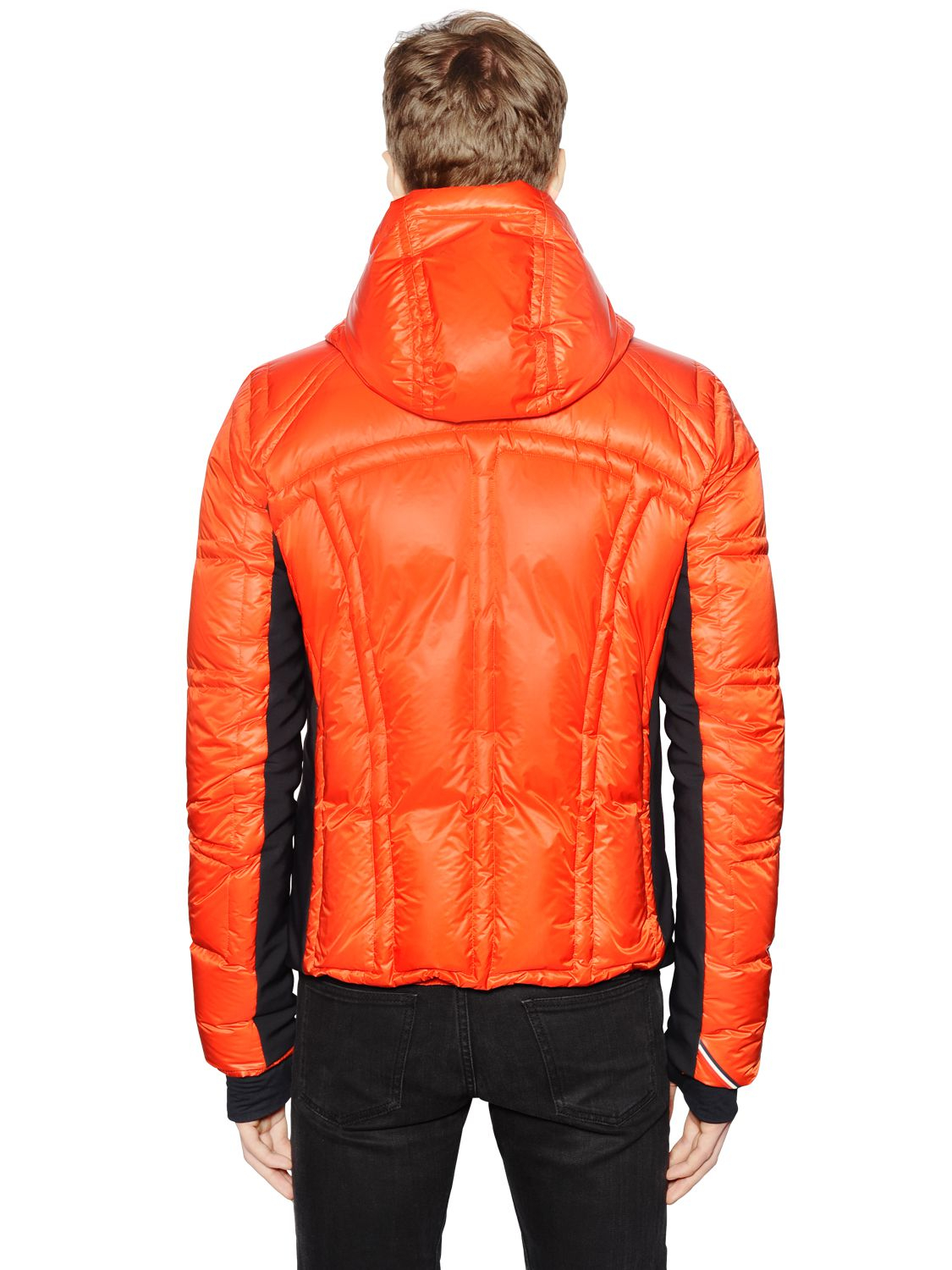 Moncler grenoble Baise Nylon Down Ski Jacket in Pink for Men | Lyst