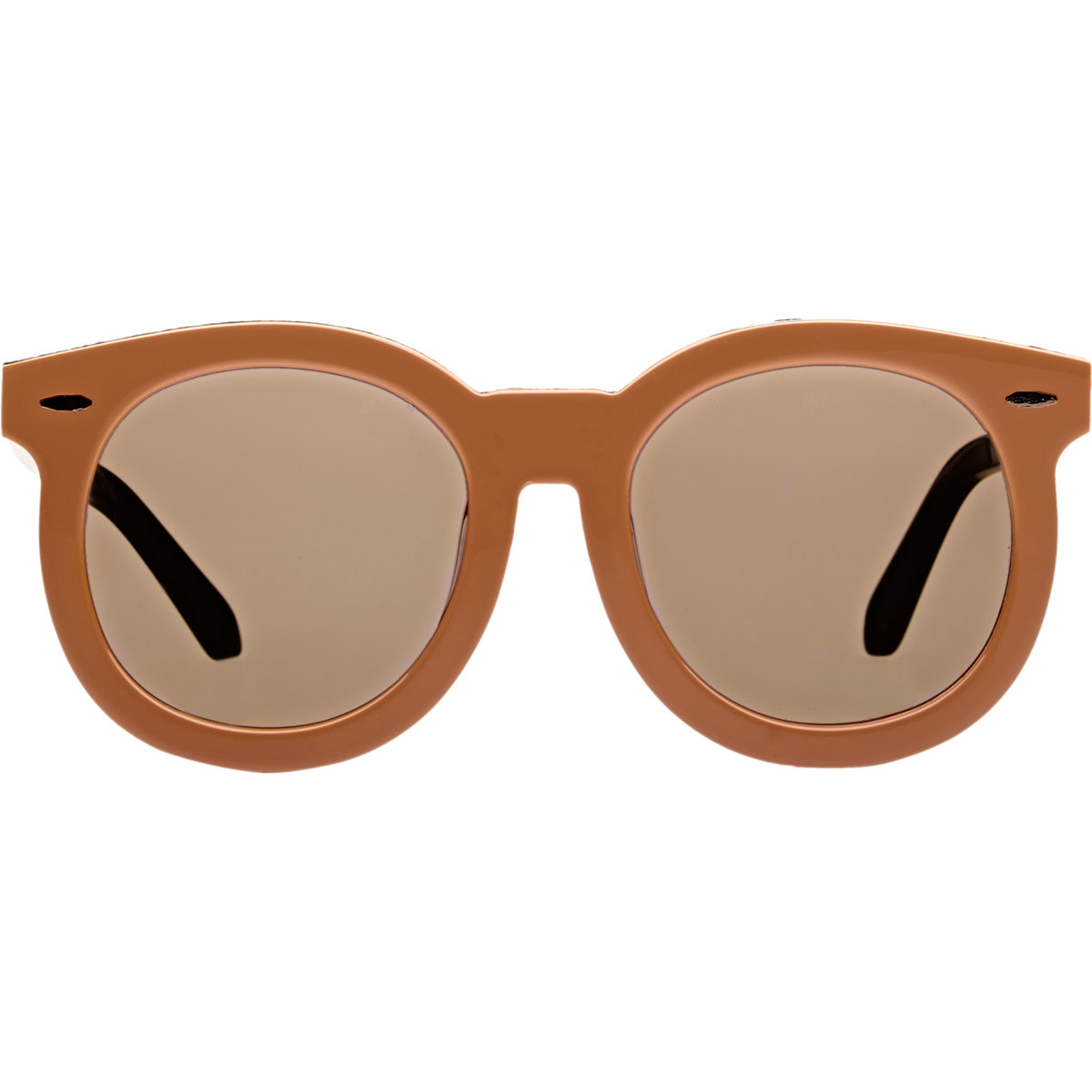 32403e292bc Lyst - Karen Walker Super Duper Thistle Sunglasses in Brown