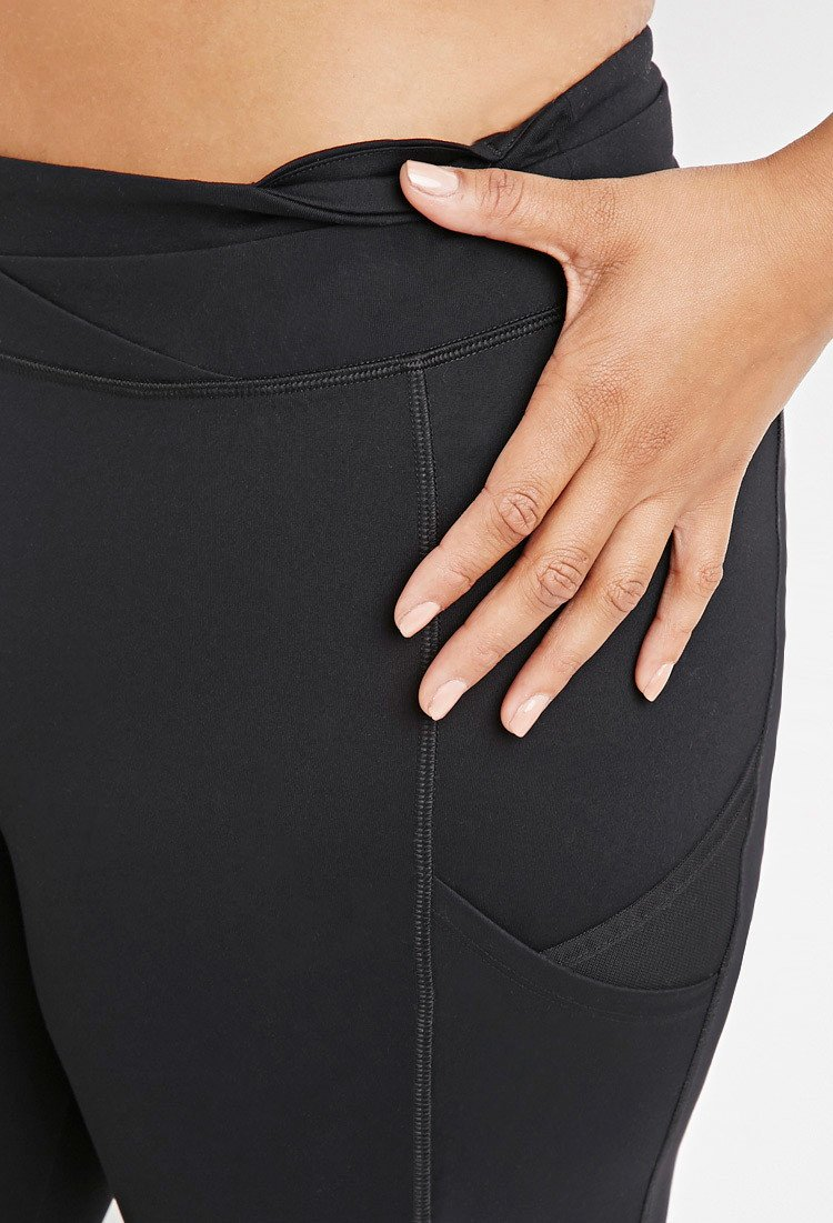 6a5f5c372813a Forever 21 Plus Size Pocket Athletic Leggings You've Been Added To ...