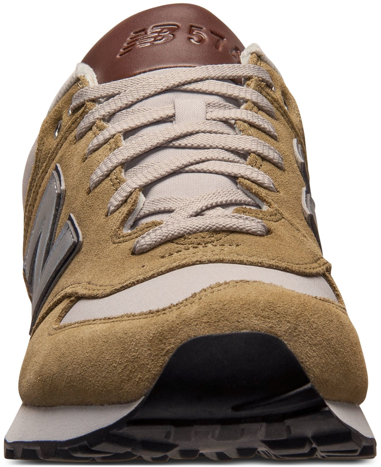new balance 574 men brown