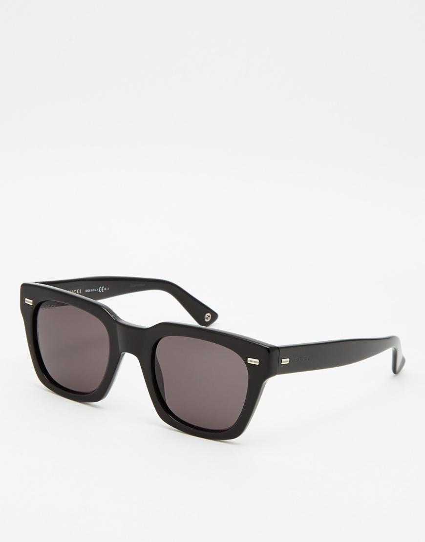 Lyst Gucci Wayfarer Acetate Sunglasses In Black For Men
