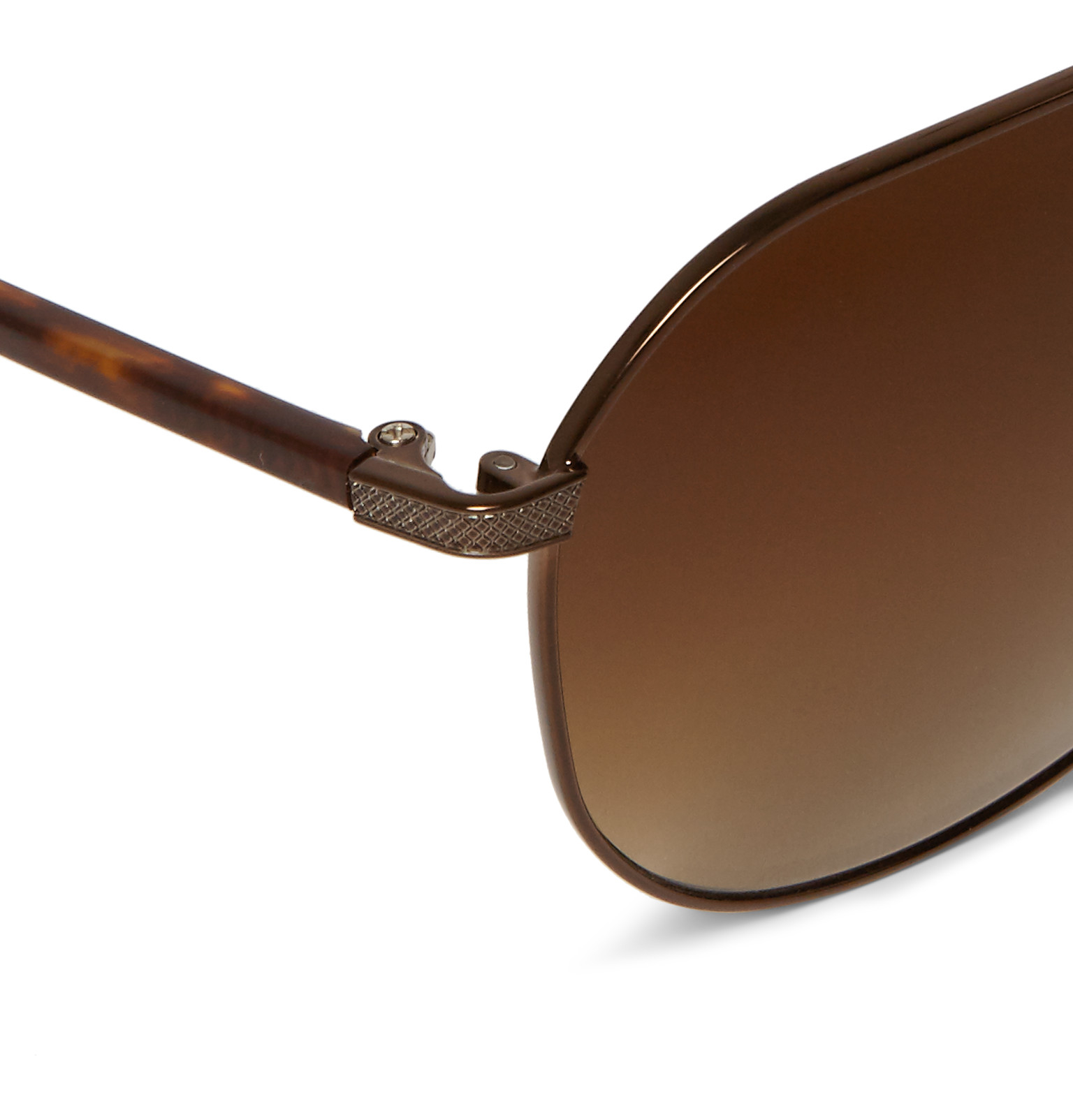 fa89ad32839 Barton Perreira Hawkeye Aviator-style Acetate And Metal Sunglasses ...