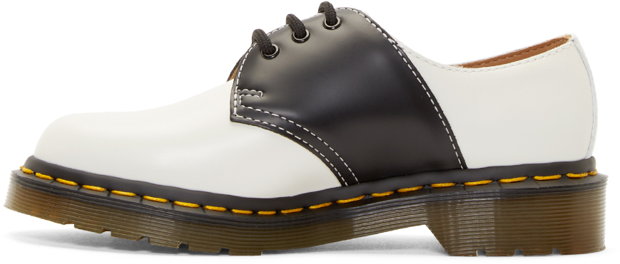 Prada White Saddle Shoes Men