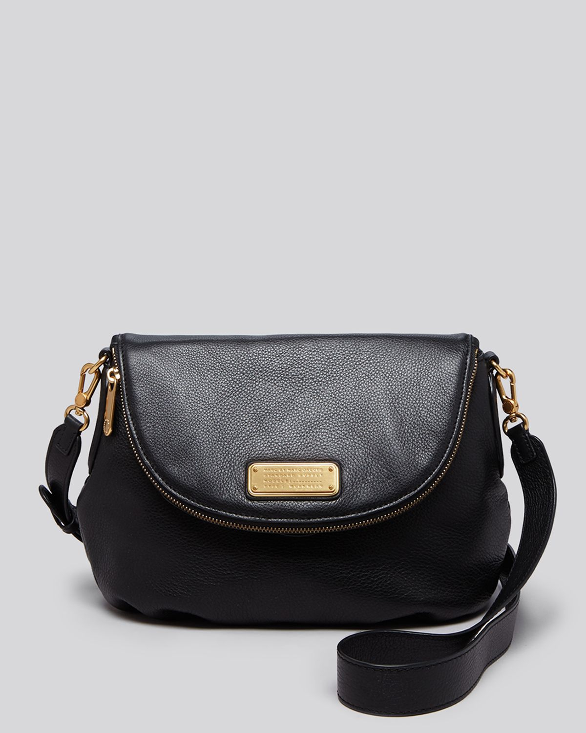 lyst marc by marc jacobs crossbody new q natasha in black. Black Bedroom Furniture Sets. Home Design Ideas