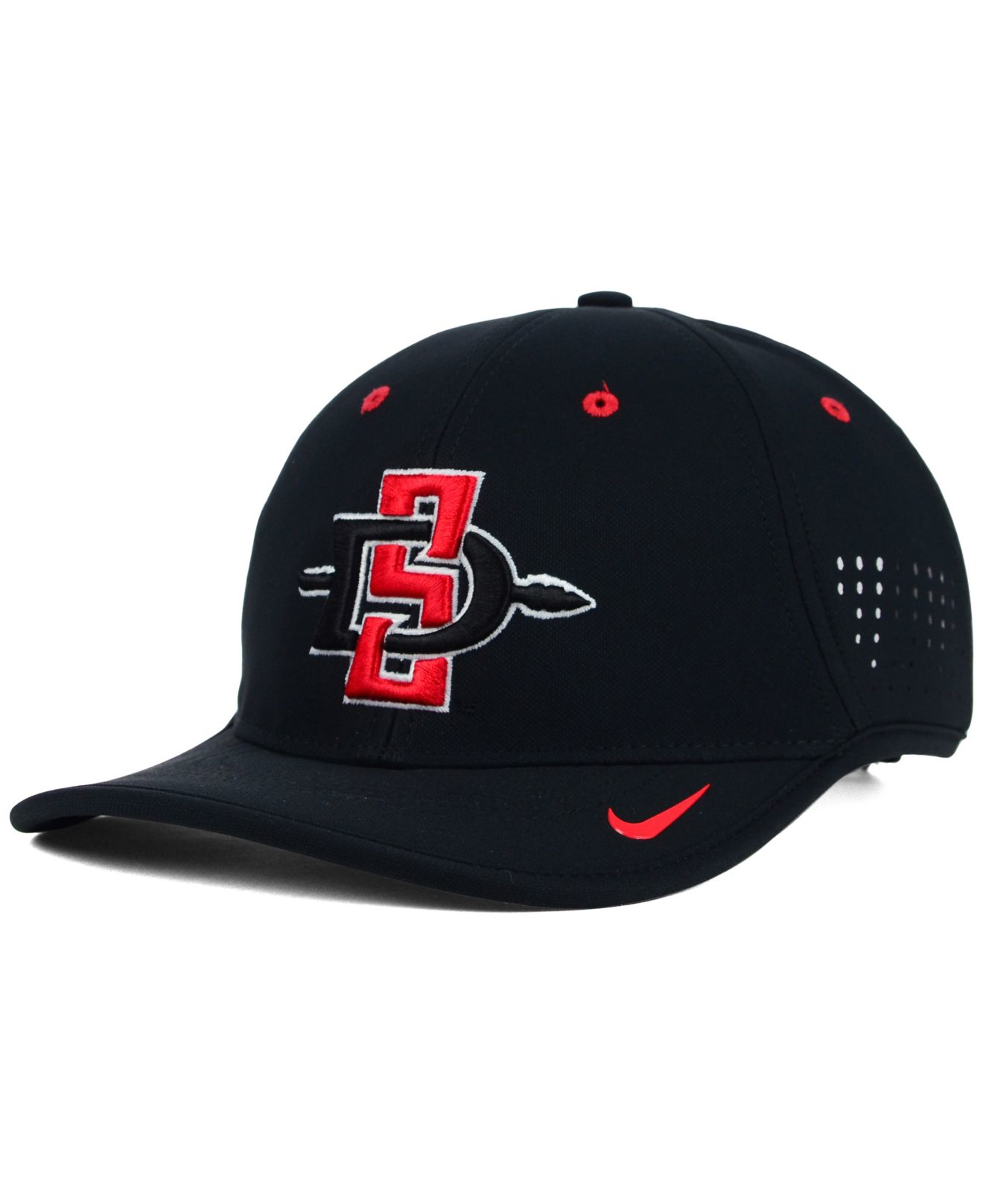 new concept 9ef4e a6ca8 Nike San Diego State Aztecs Coaches Dri-fit Cap in Black for Men - Lyst