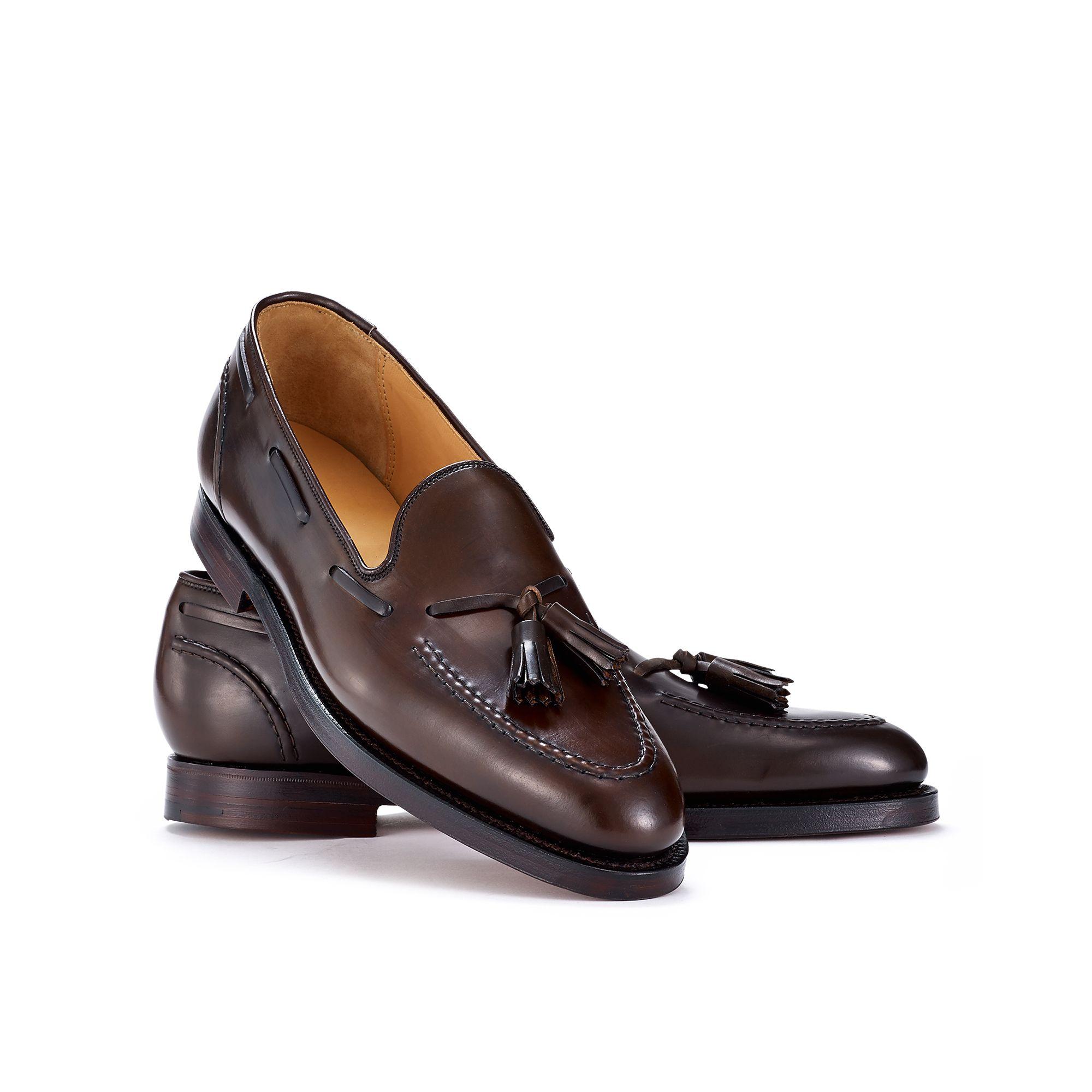 bf4fab7fd30 Ralph Lauren Cordovan Marlow Tassel Loafer in Brown for Men - Lyst