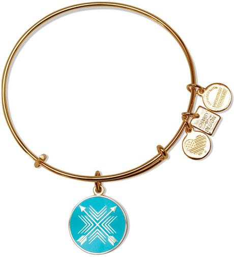alex and ani arrows of friendship expandable wire bangle