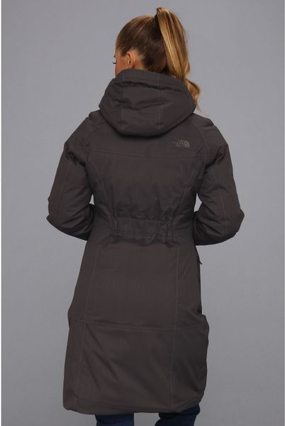 the north face arctic parka in gray graphite grey lyst. Black Bedroom Furniture Sets. Home Design Ideas