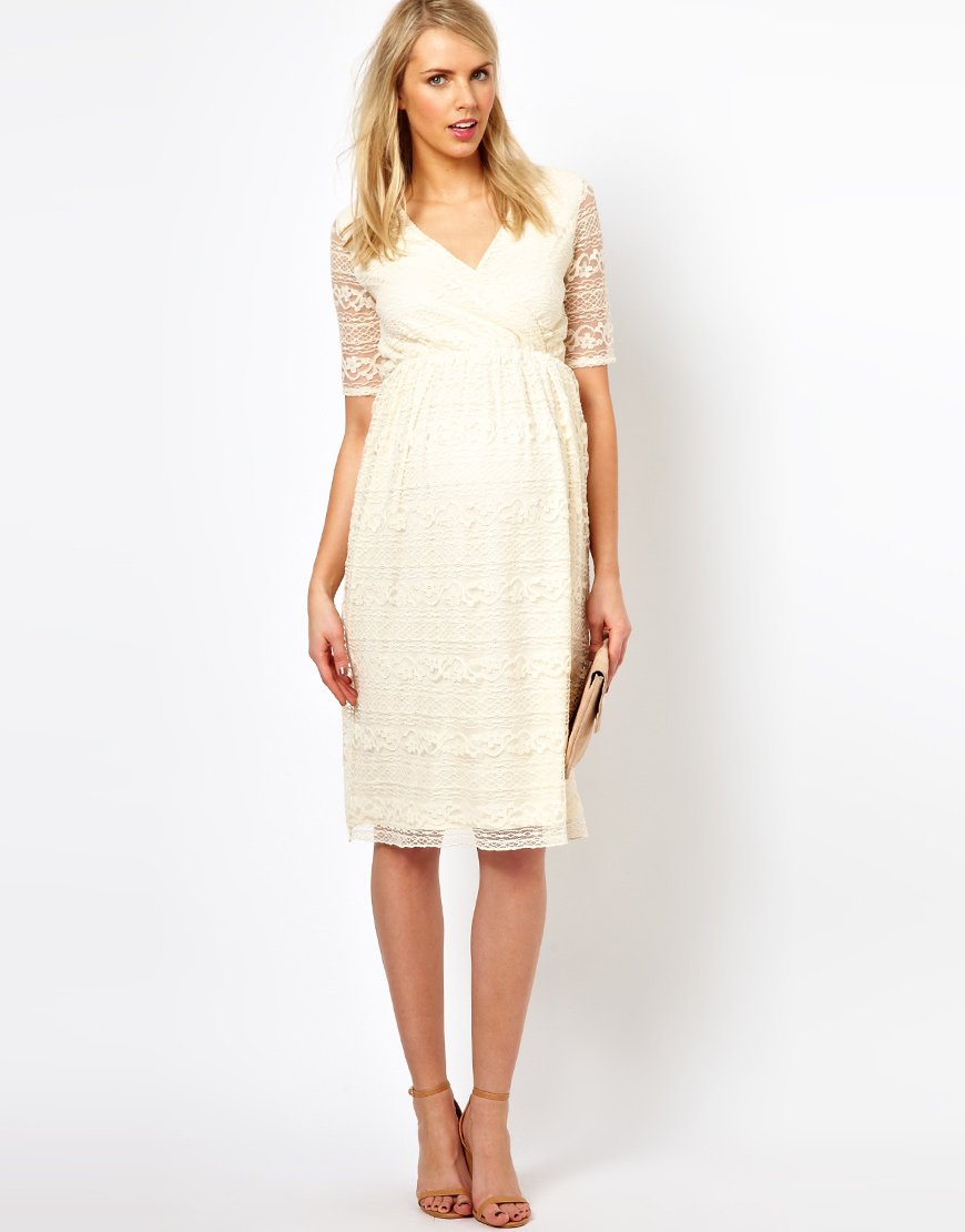 lace midi dress - photo #37