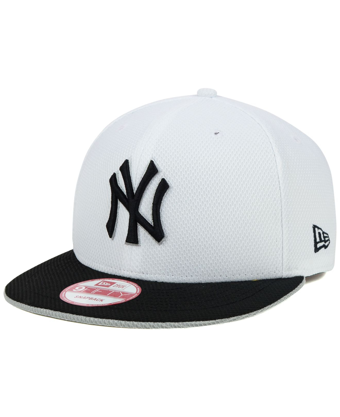 2dbada4ab4c9f ... best lyst ktz new york yankees white diamond era 9fifty snapback cap in  33e4b a3469