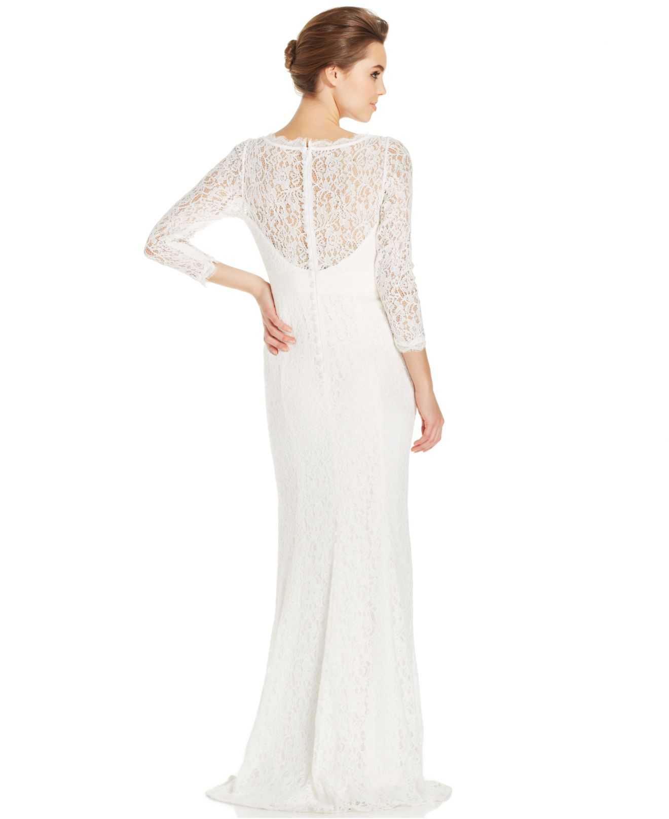 d06310e9b81d Gallery. Previously sold at  Macy s · Women s Adrianna Papell Lace Dress ...