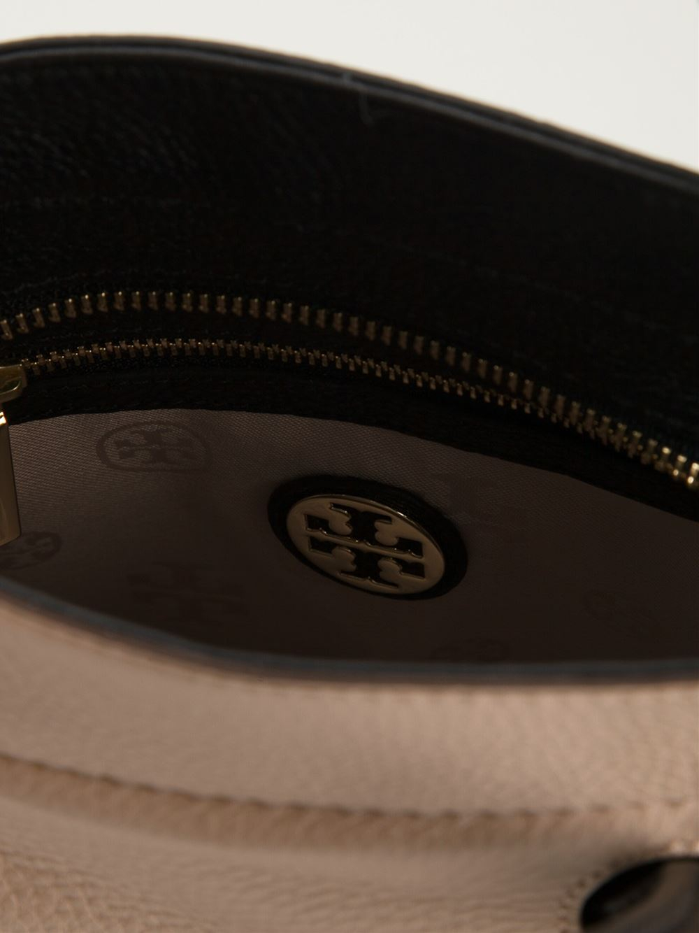 Lyst Tory Burch Small Clara Tote In Brown