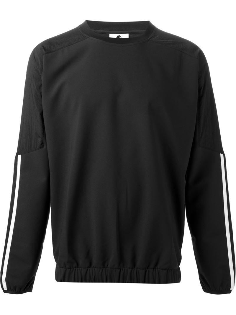 Lyst palazzo adidas x logo felpa in nero per gli uomini.