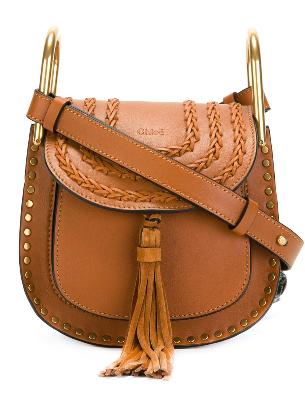 chloe hudson fringed shoulder bag