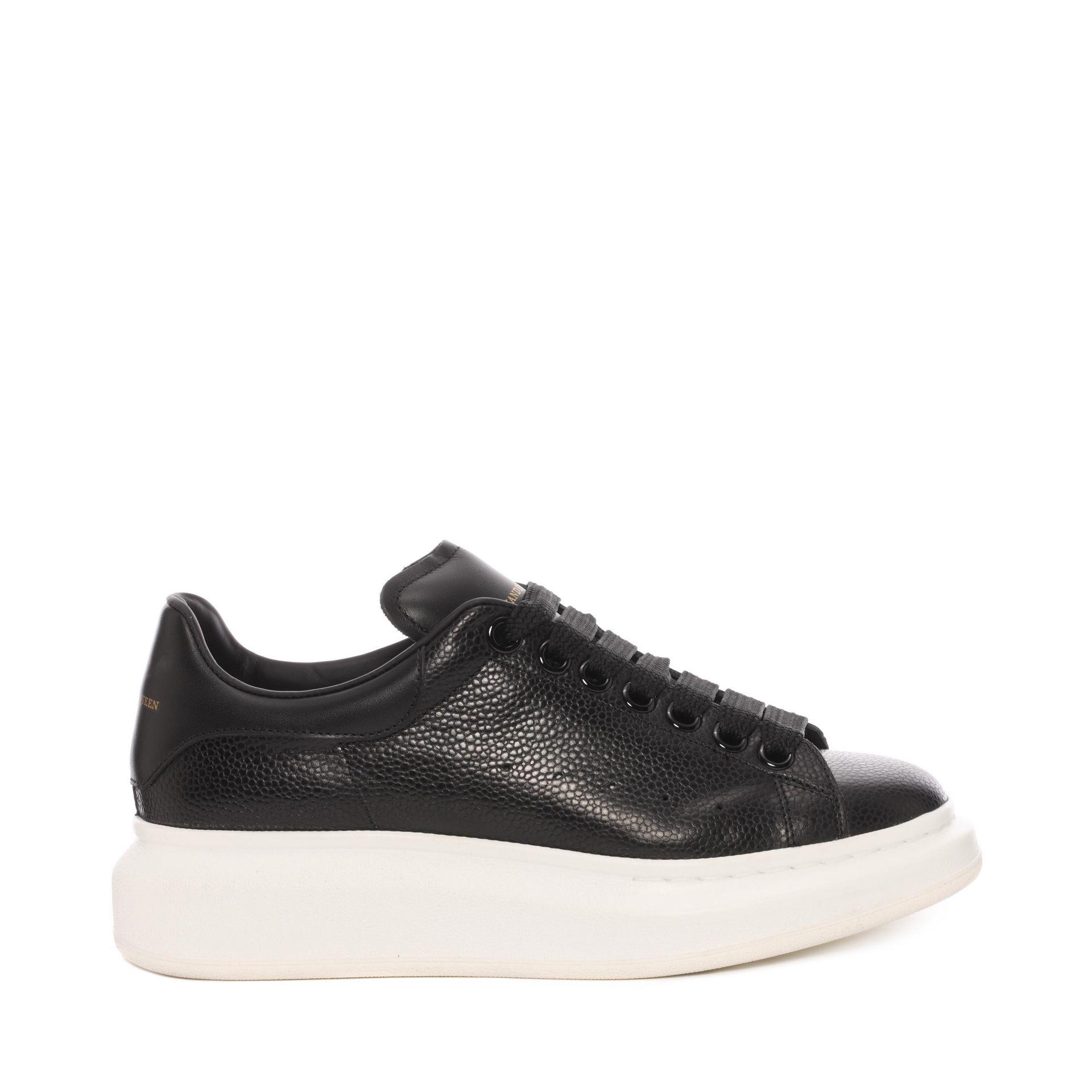 Lyst Alexander Mcqueen Oversized Sneaker In Black