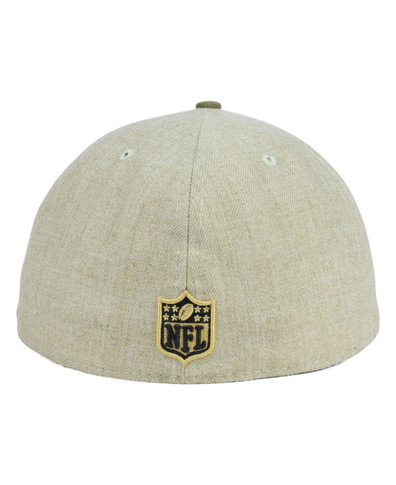 Lyst - KTZ Houston Oilers Oatwood 59fifty Cap in Natural for Men 717152b8e98