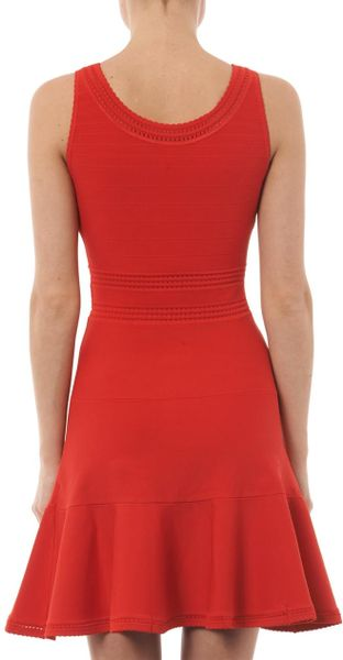 Perry Dress Dvf Perry Dress in Red