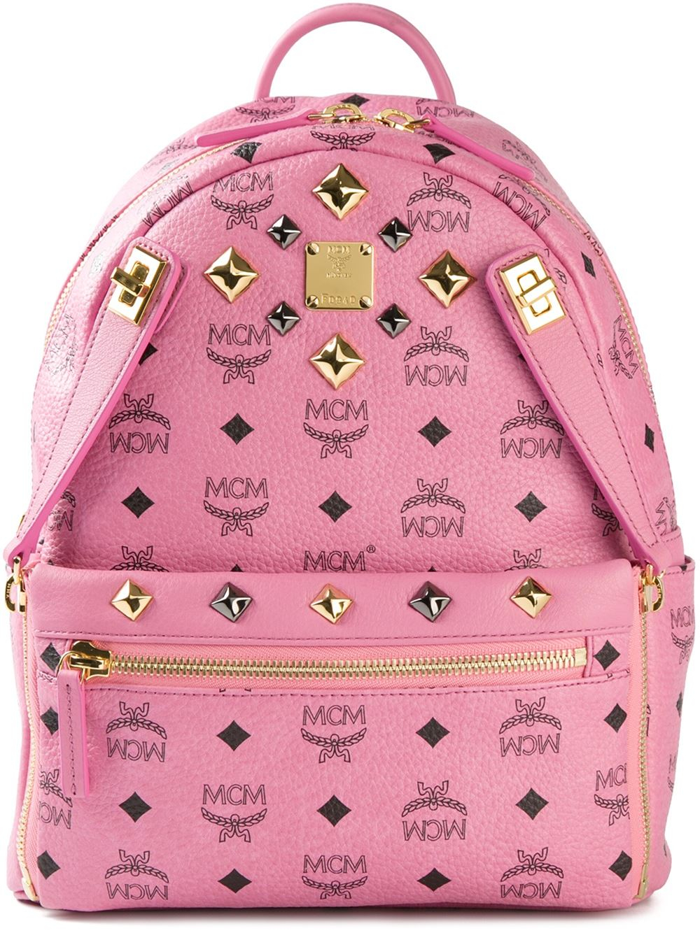 Mcm 'Stark' Backpack in Pink | Lyst