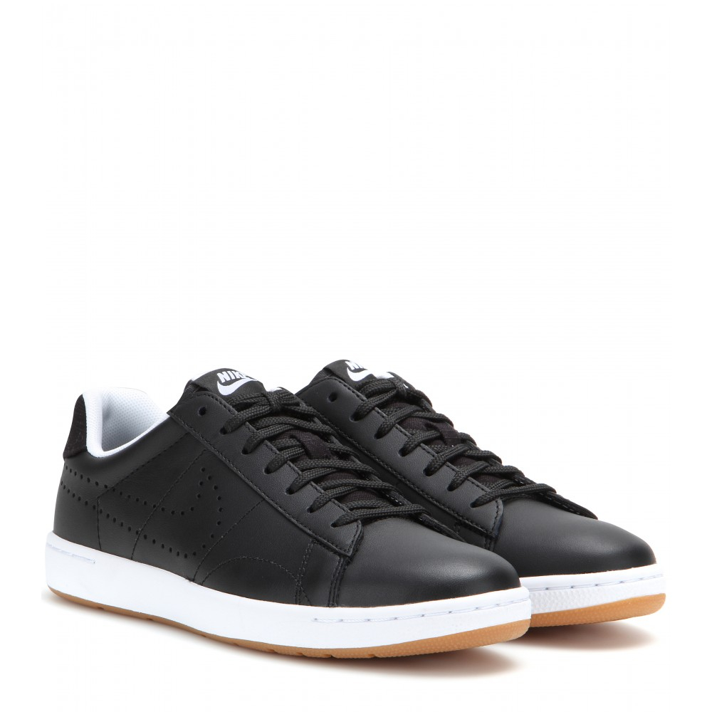 Nike Tennis Classic Ultra Leather Sneakers in Black | Lyst