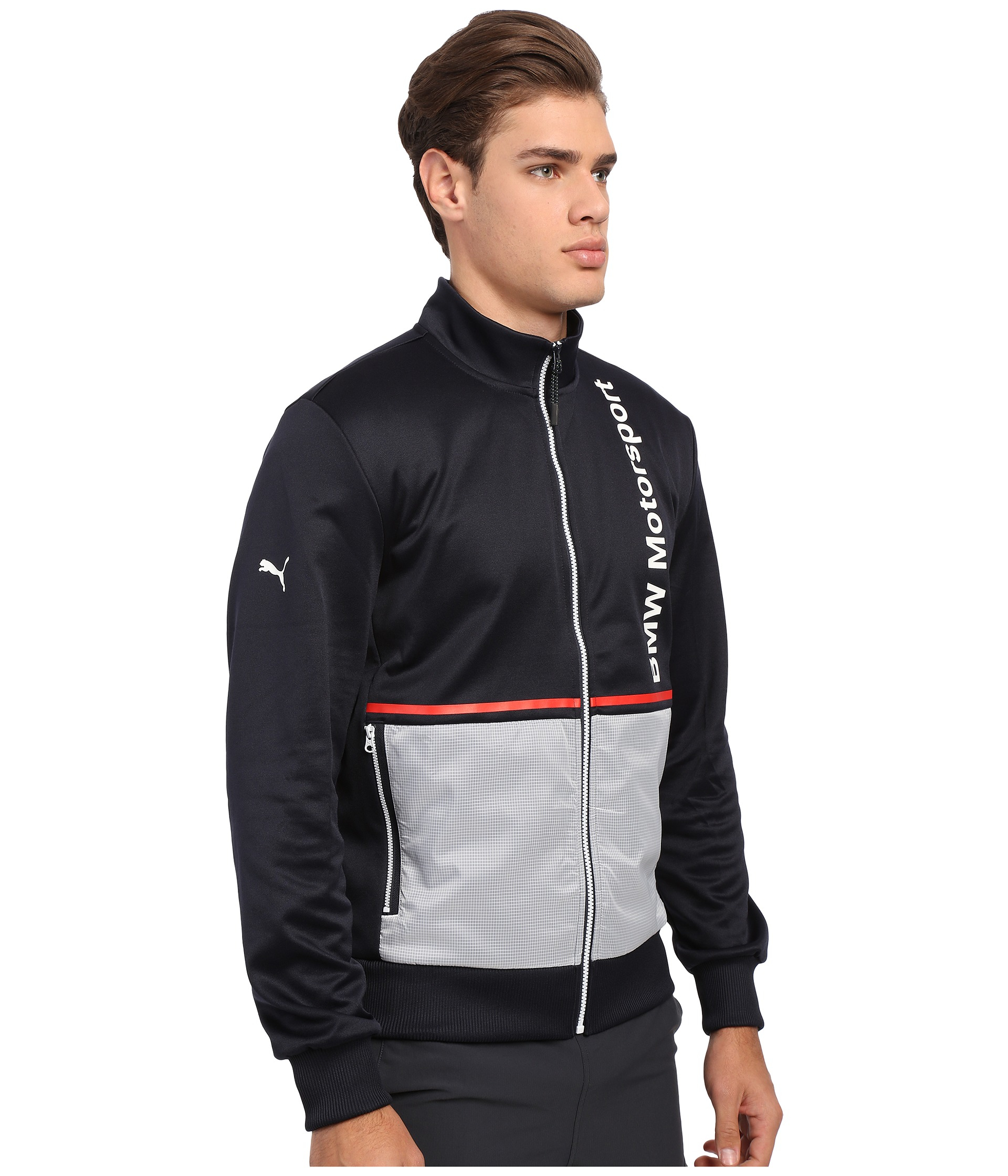 63b2574e5bbf Lyst - PUMA Bmw Msp Track Jacket in Blue for Men