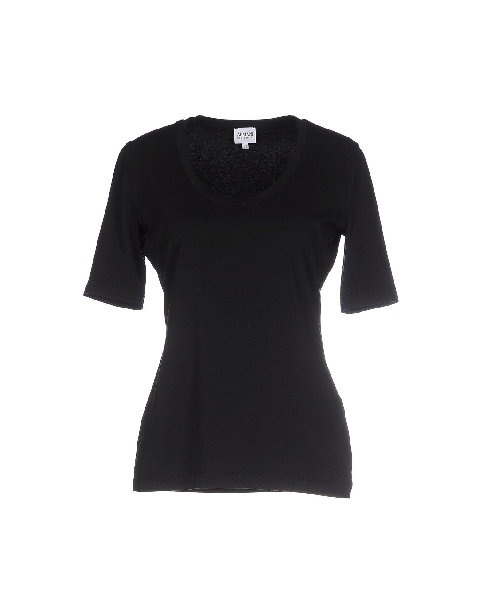 Armani t shirt in multicolor black lyst for Black armani t shirt