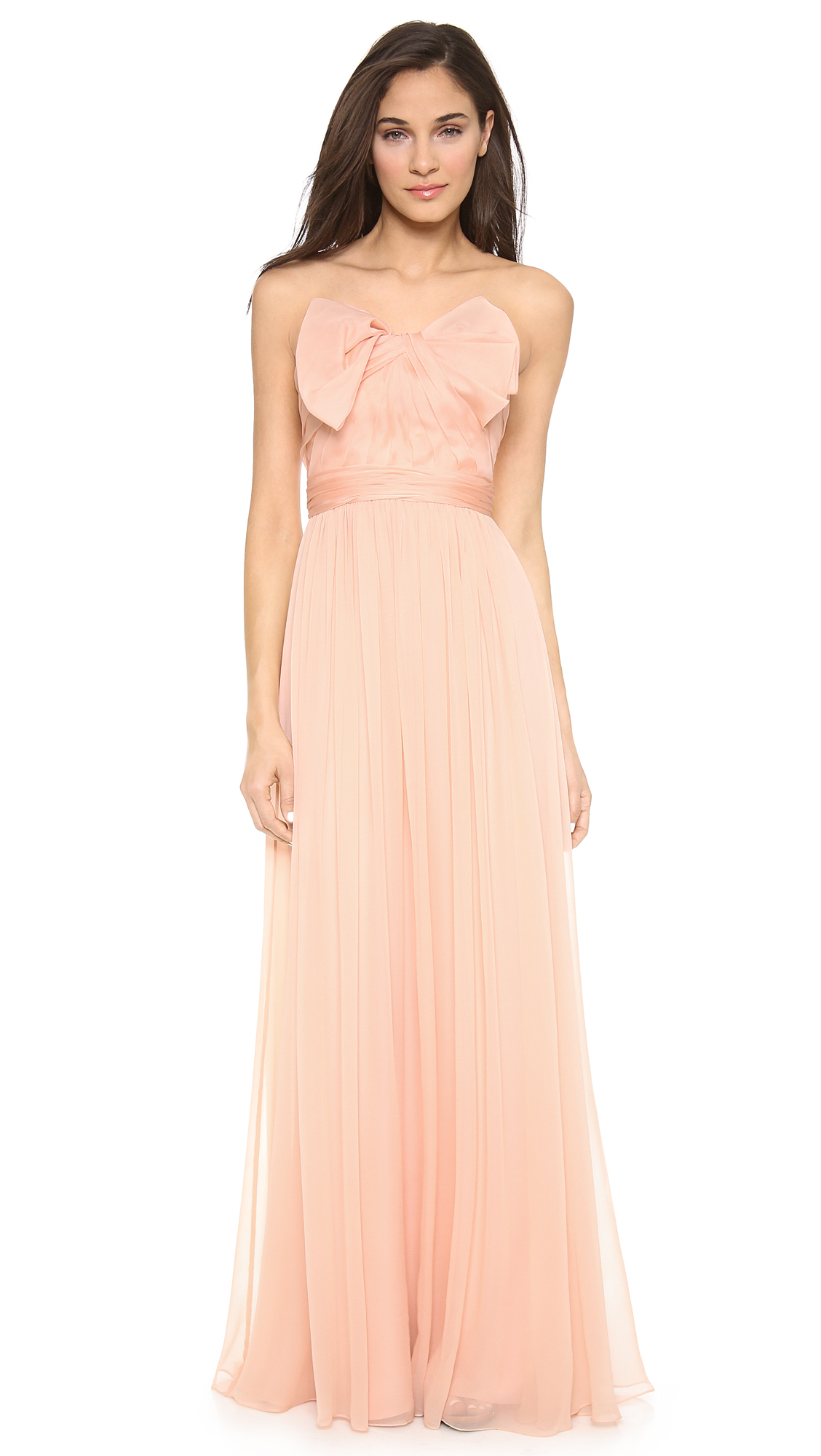 Marchesa Pink Dress  Cocktail Dresses 2016
