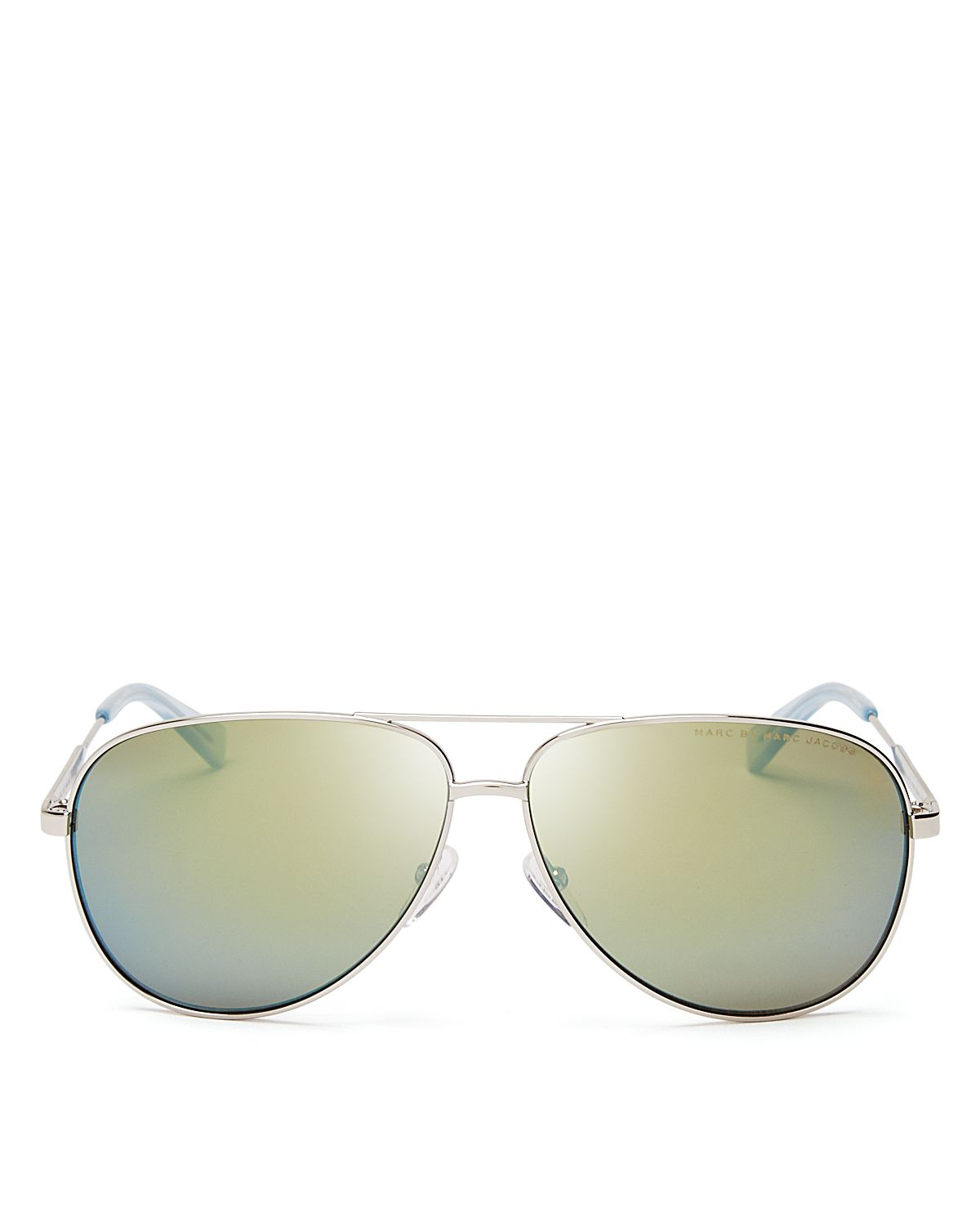 Marc by marc jacobs mirrored aviator sunglasses 60mm for Mirror sunglasses