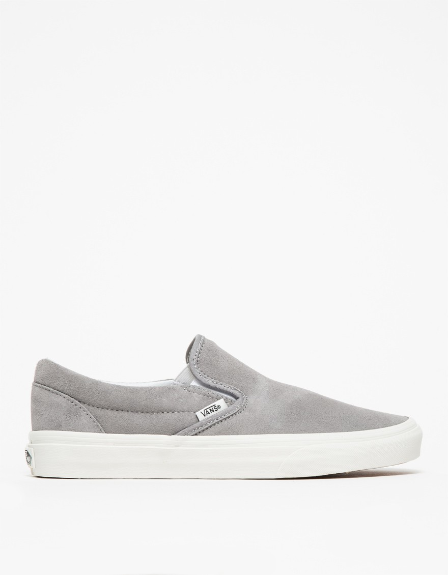 d3ce49e852 Lyst - Vans Classic Slip-on In Frost Grey in Gray
