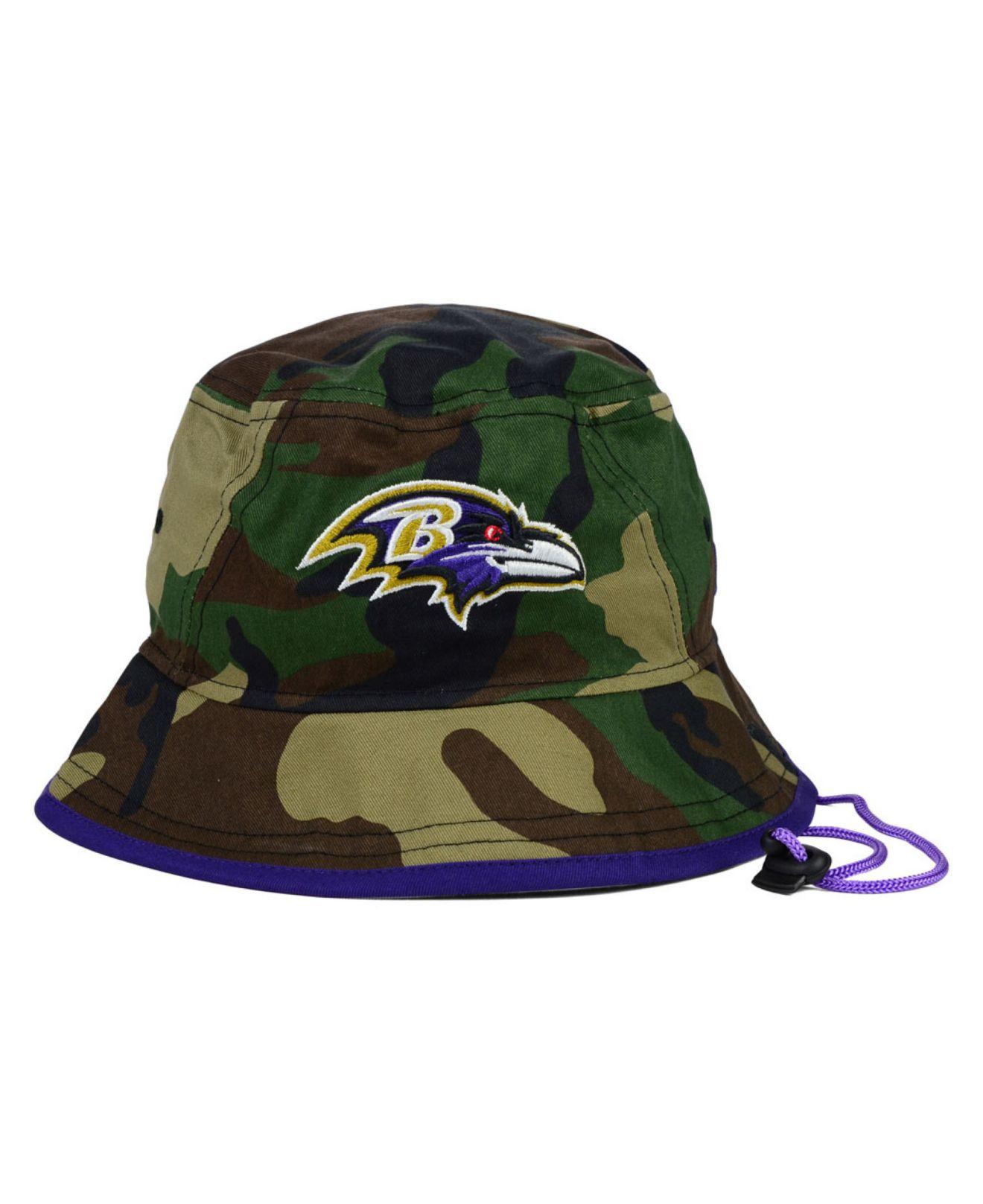0c09b14241cf1 ... coupon for lyst ktz baltimore ravens camo pop bucket hat in green for  men 254fd 2280e ...