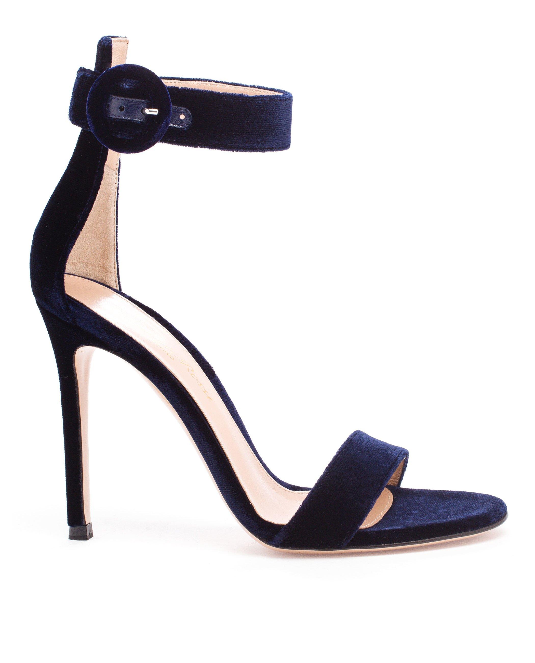 Velvet sandals Gianvito Rossi E5Hge26Jfb