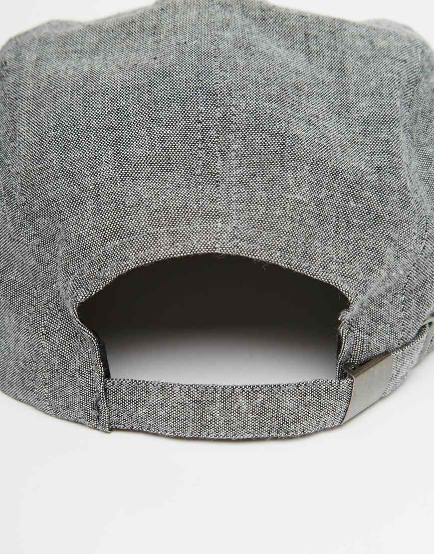 3afd08beb8a1f Brixton Hendrick 5 Panel Cap in Gray for Men - Lyst