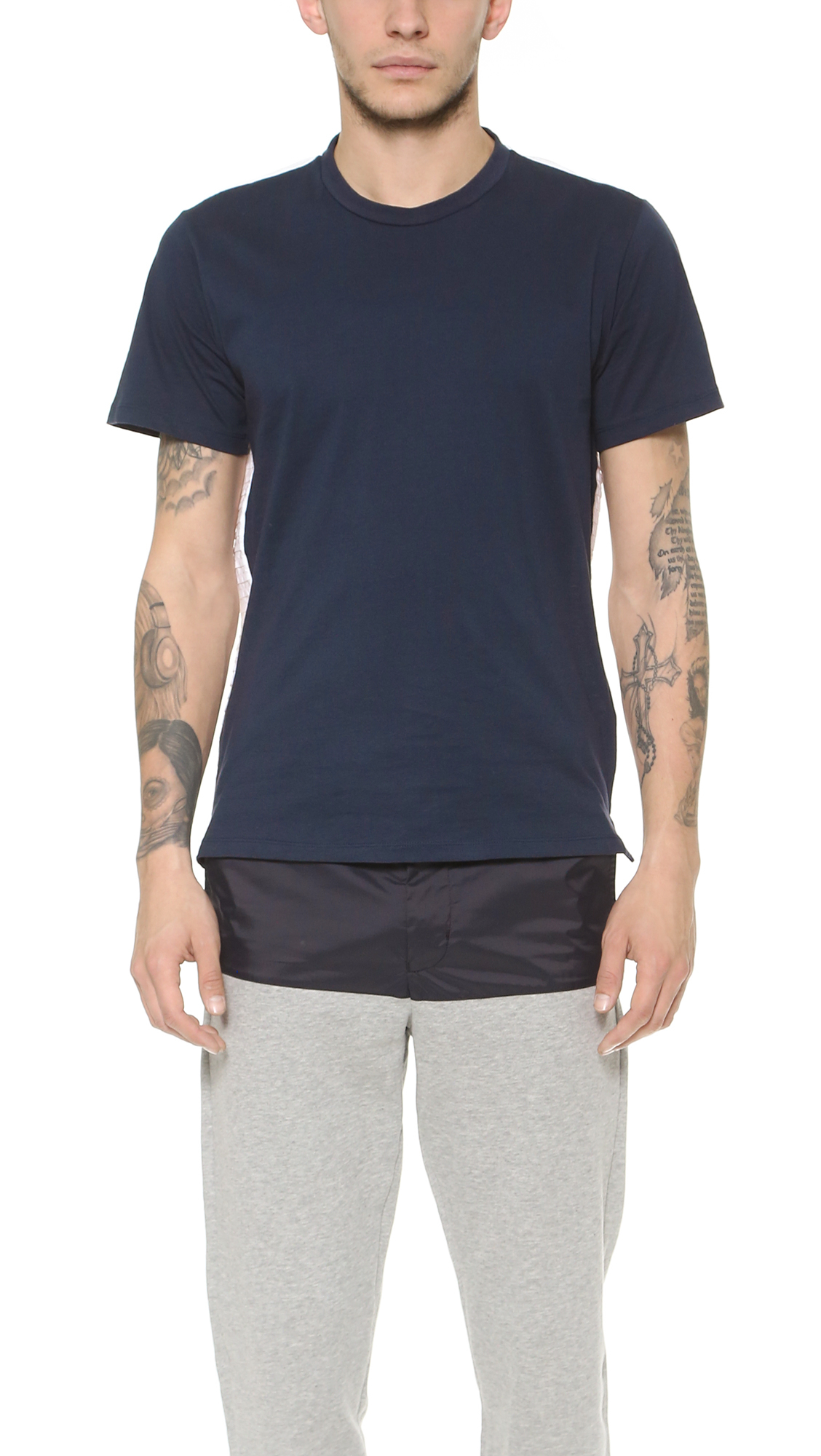 Still Good Number 66 T Shirt In Blue For Men Lyst
