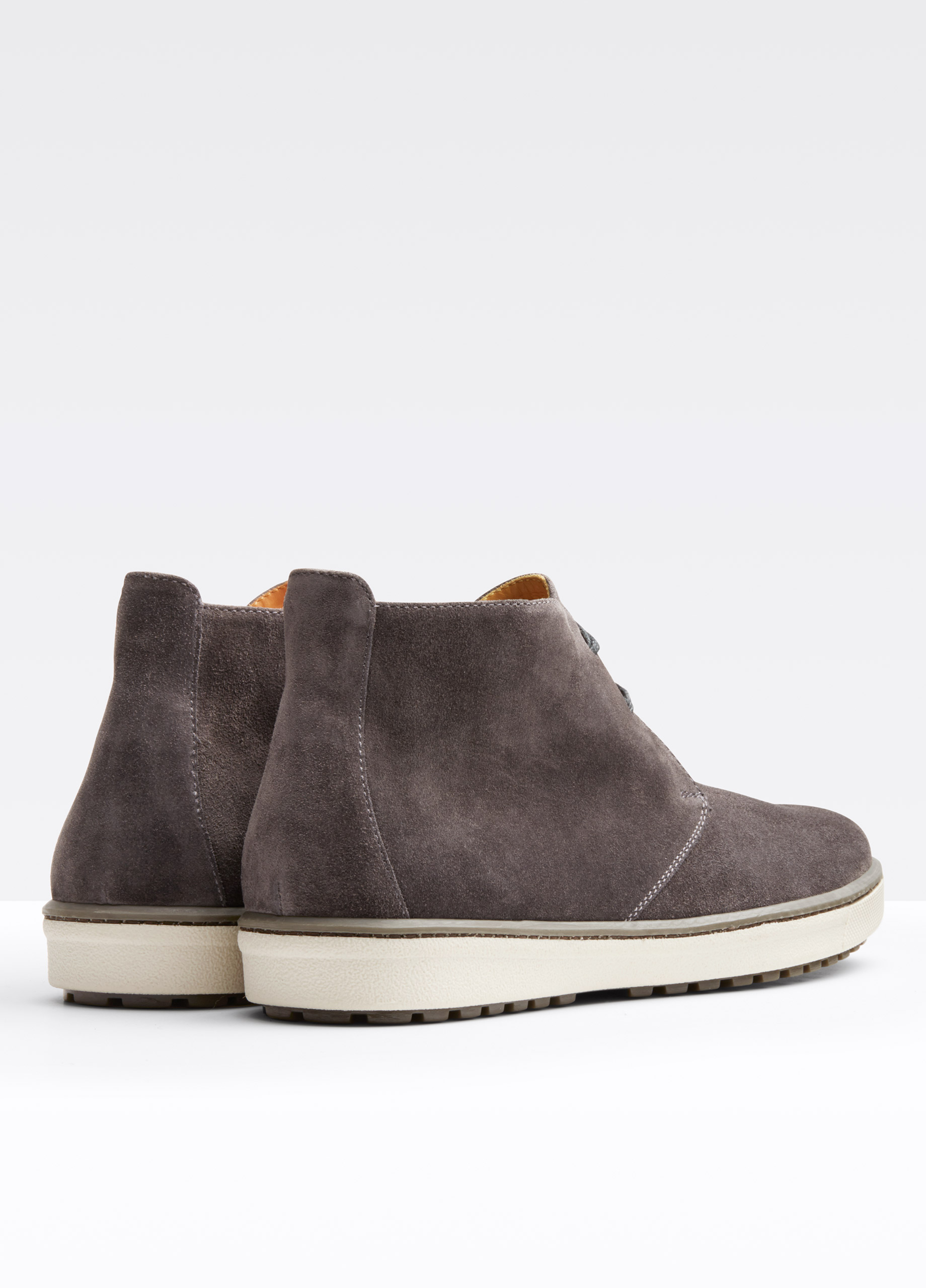Lyst Vince Blake Suede Boot In Gray For Men